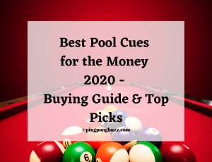 Best Pool Cues for the Money 2021 - Buying Guide