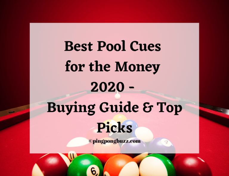 Best Pool Cues for the Money 2020 - Buying Guide