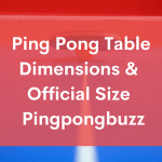 Ping Pong Table Dimensions & Official Size - PingPongBuzz