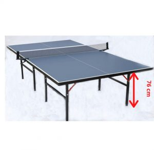 ping pong table size