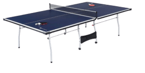 MD Sports Ping Pong Table Set