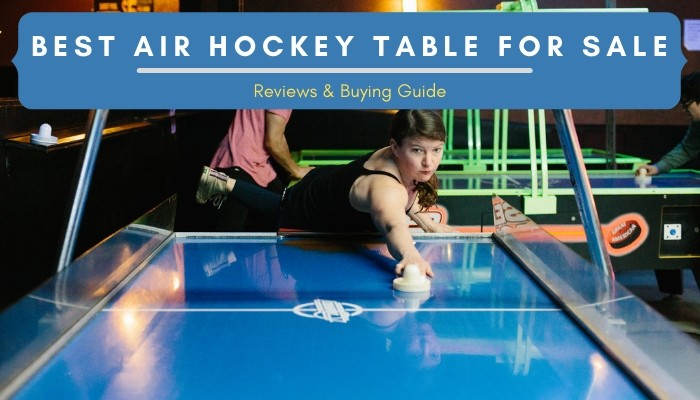 Best Air Hockey Table Reviews 2021 - Buying Guide