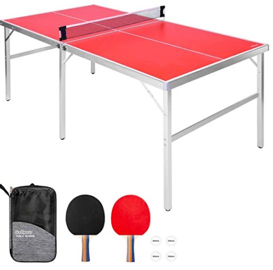 GoSports Midsize Tennis Game Set