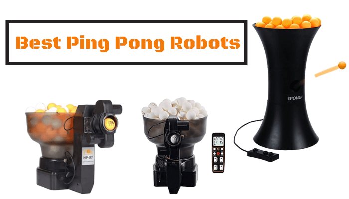 Best Ping Pong Robot Review in 2021