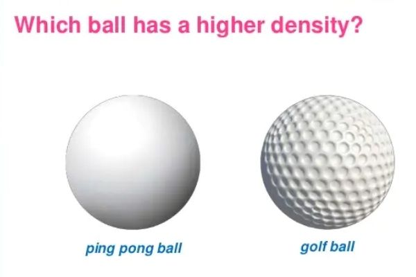 Does the weight of the ball affect the displacement of the dice