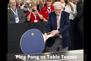 what is difference btween Ping Pong vs Table Tennis