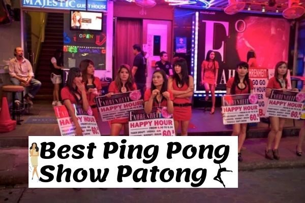 Best Ping Pong Show Patong