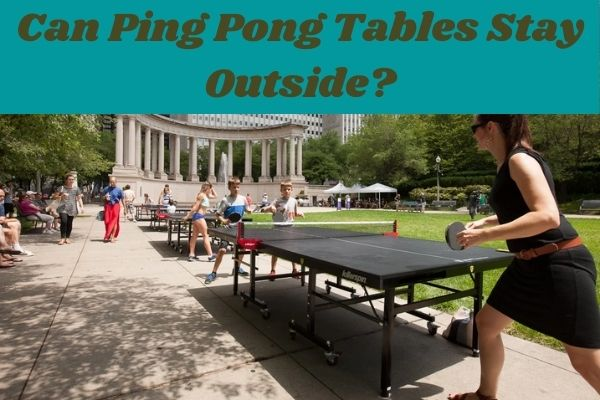 Can Ping Pong Tables Stay Outside? a complete information