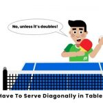 Do You have to Serve Diagonally in Ping Pong?