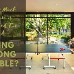How Much Room is Needed For a Ping Pong Table? Room Size & Table Dimensions