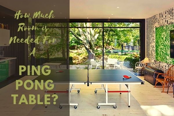 Room Size Ping Pong Table