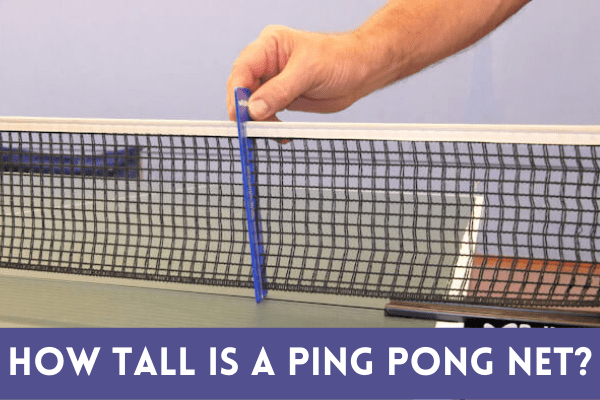 best how tall is a ping pong net 2021